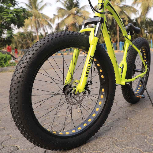 Latest Fat Tyre Mountain Cycle 21 Speed Gears Shimano For Adults Steel Body
