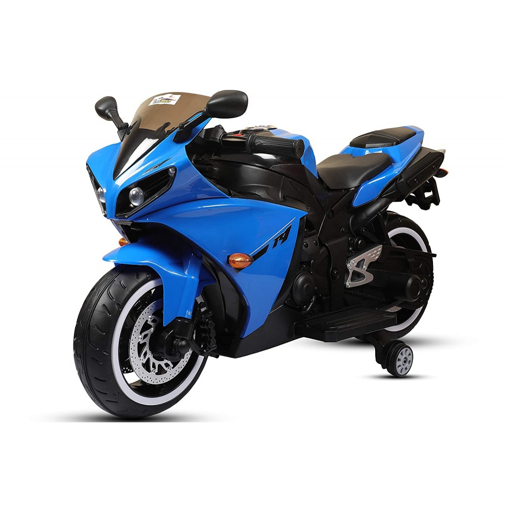 Latest Kids Bike Motorcycle R1 Electric Battery Operated Ride On 12V Rechargeable