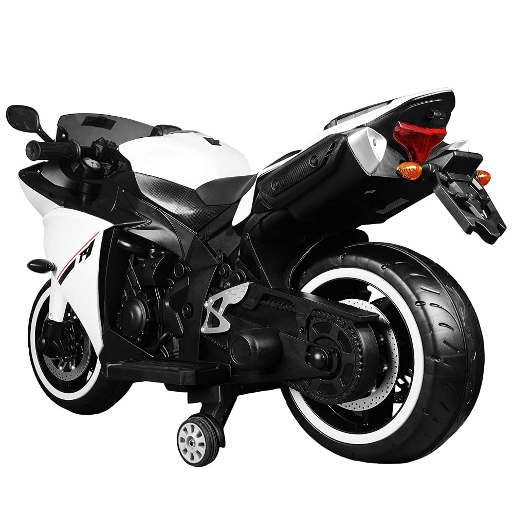 R1 Kids Bike Motorcycle Electric Battery Operated Ride On 12V Rechargeable