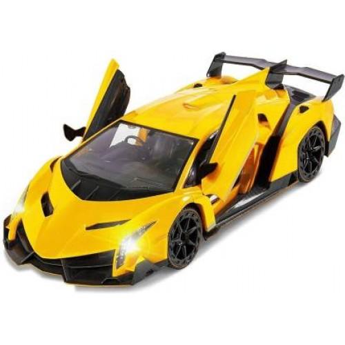 Stylish Remote Control Car Lamborghini Hurucan Yellow 1:16 Scale Model Car