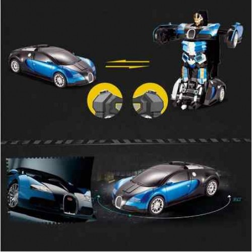 New Remote Control Rc Cars Toys For Kids Transformer Model Battery Operated