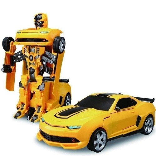 RC Remote Control Car Transformation Robot Toy Drift Deformation Electric Sports Car Robot Model Birthday gift toy for children