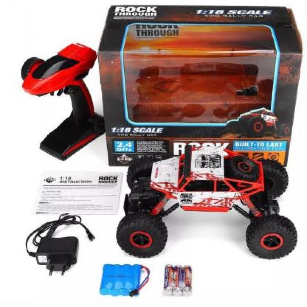 4wd High Speed Remote Control Original Rock Crawler Truck 4 Channel 2.4 Ghz