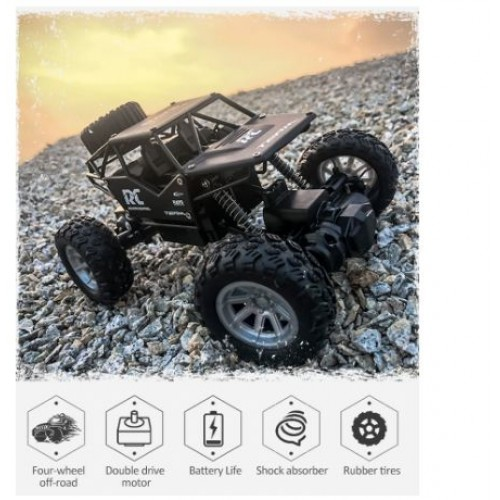 4WD Electric RC Car 2019 Rock Crawler Remote Control Toy Cars On The Radio Controlled 4x4 Drive Off-Road Toys For Boys Kids Gift