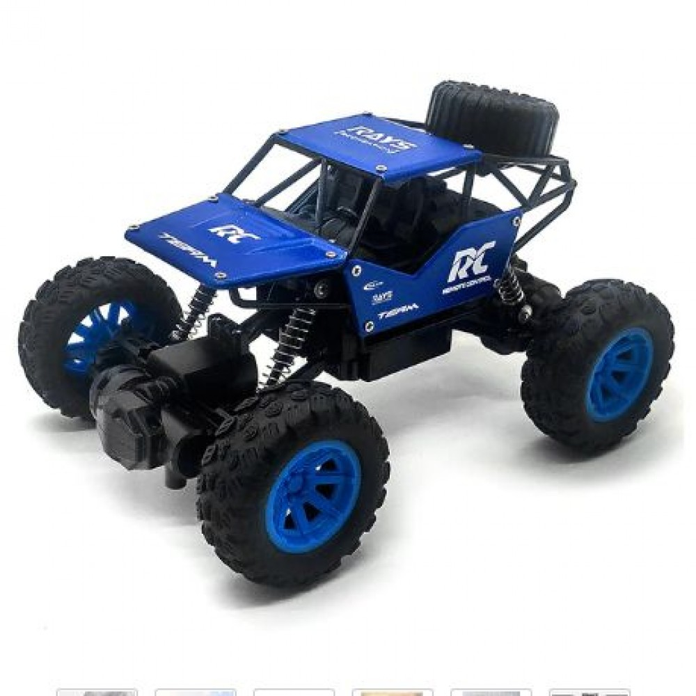 4WD Truck RC Monster Off-Road Vehicle 2.4G High Speed Remote Control Buggy Crawler Car climbing Trucks